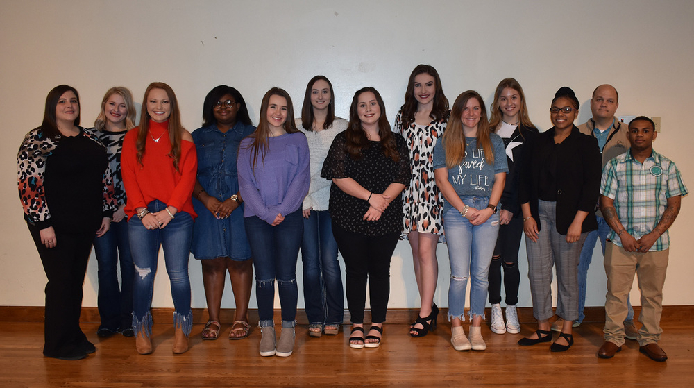 Phi Theta Kappa students inducted in recent ceremony